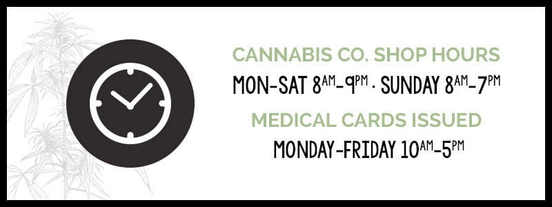 Walla Walla Cannabis Co Winter Hours